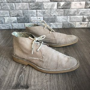 Sperry top sider men's taupe canvas chukka boots
